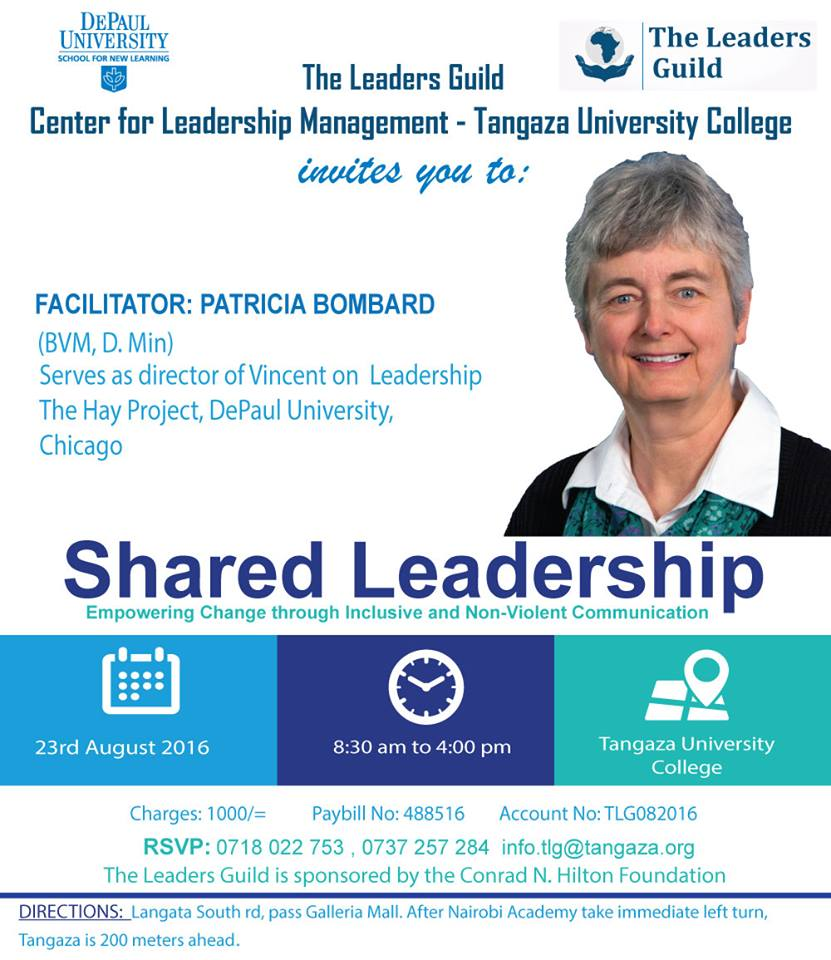 Shared Leadership Poster